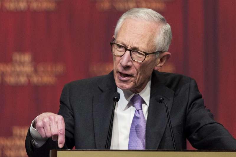 美國聯準會(Fed)理事兼副主席費雪(Stanley Fischer)(AP)