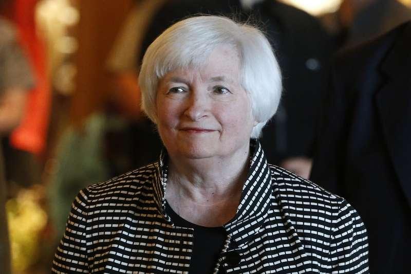 FED再次升息。圖為明年2月將卸任的Fed主席葉倫(Janet Yellen)(AP)