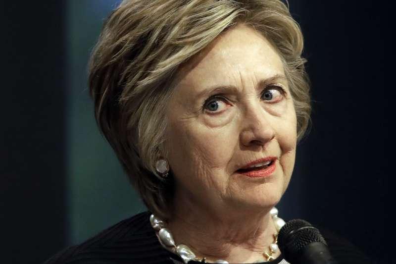 希拉蕊在去年的白宮之戰敗給對手川普,她在即將出版的新書暢談敗選心聲與反思(AP)
