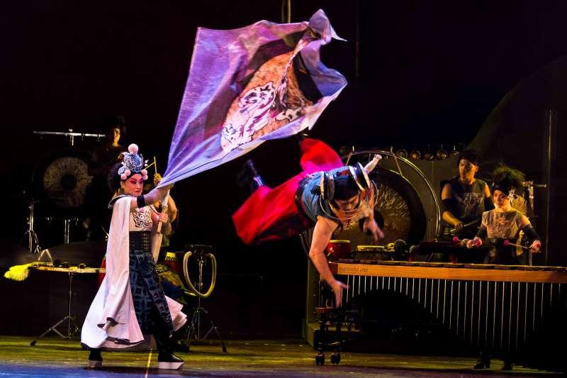 2017-09-09-擊樂劇場《木蘭》2013年版劇照。(朱宗慶打擊樂團提供)