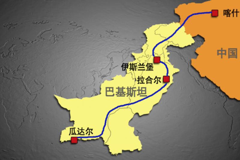 中巴經濟走廊是中國一帶一路計畫的旗艦方案(美國之音)