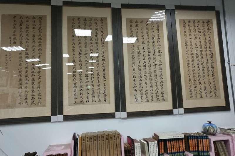 朋友的書法收藏─赤壁賦。(韋安提供)