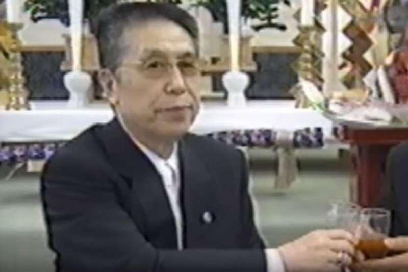 為住吉會奉獻一生的總統西口茂男12日清晨去世,享壽88歲。(翻攝影片)