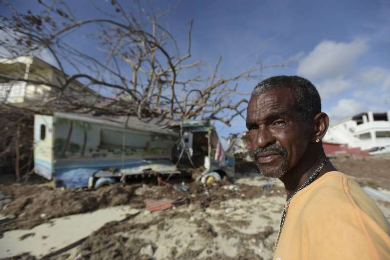 艾瑪颶風橫掃加勒比海,沿途經過波多黎各、多明尼加及海地,最後經過古巴向美國的佛羅里達州撲去。(資料照,AP)
