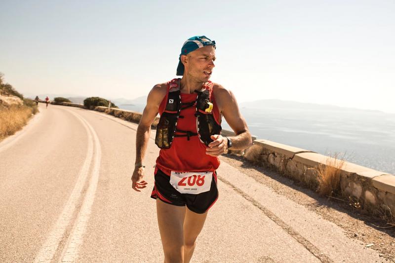 《246公里》由匈牙利、希臘、法國、德國攜手合作,將斯巴達超級馬拉松題材,放進平民追逐夢想的框架裡。(圖/取自CNEX官網)