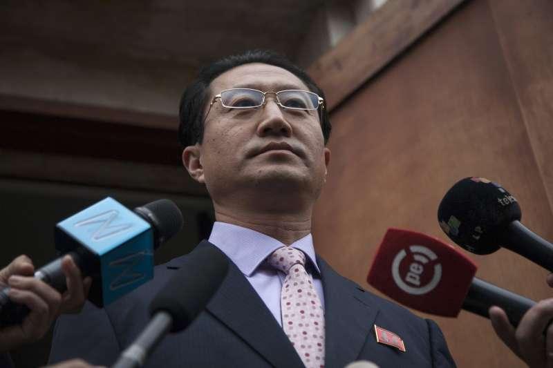 北韓駐祕魯大使金鶴哲被列為「不受歡迎人物」,遭令5天內離境。(美聯社)