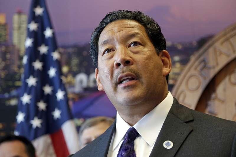 西雅圖市議會議長哈瑞爾暫代西雅圖市長(AP)