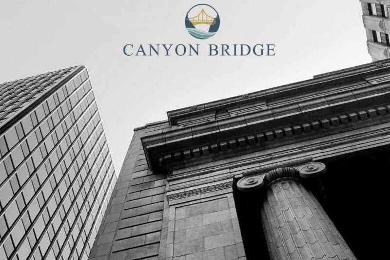 受美國外資審議委員會(CFIUS)審議趨緊,加上中美貿易戰影響,中國資金海外併購金額明顯縮減,圖為被川普禁止併購半導體業、具中資背景的峽谷橋梁資本夥伴基金(Canyon Bridge Capital Partners)(資料照,截圖自Canyon Bridge)