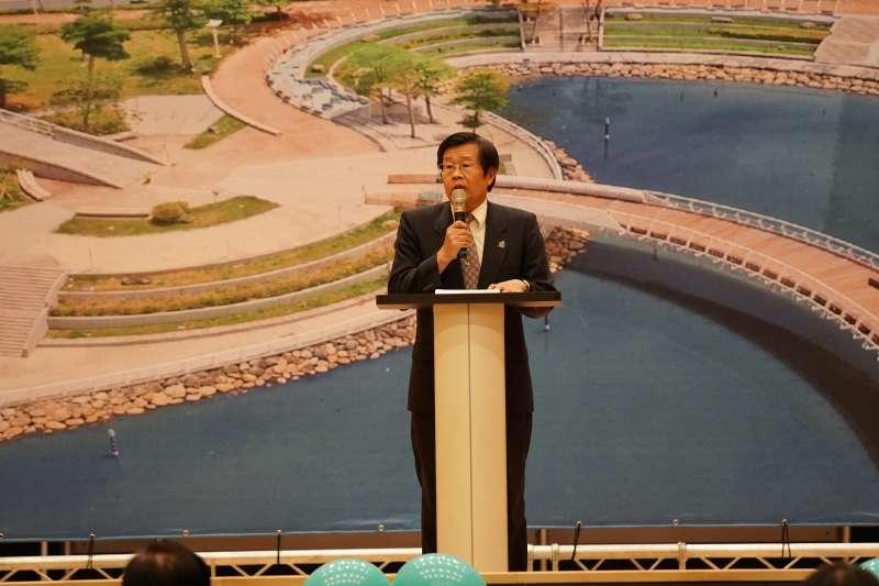 高雄市府秘書長楊明州傳出將接任高雄代理市長一職。(資料照,高雄市水利局提供)