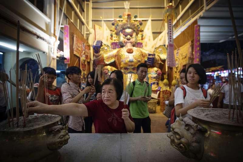 2017年9月,馬來西亞華人進行傳統的「大士爺」祭典(AP)