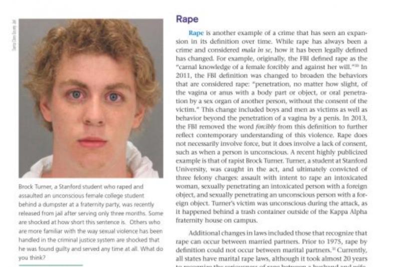 《刑法導論:體系、多元性與變遷》介紹性侵罪的頁面。