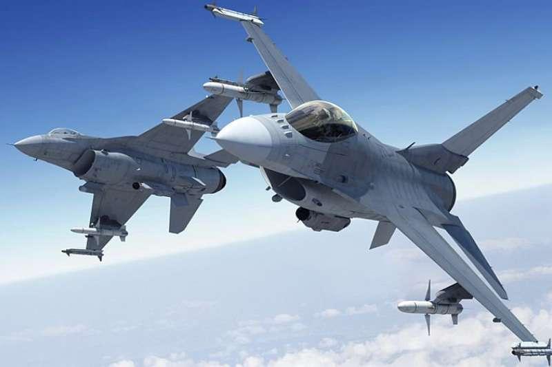 F-16A/B型性能提升後的首批4架F-16V將於年底出廠順利交機,並於明年在台完成試飛後交付空軍。(取自MILITARY TECHNOLOGY @twitter)