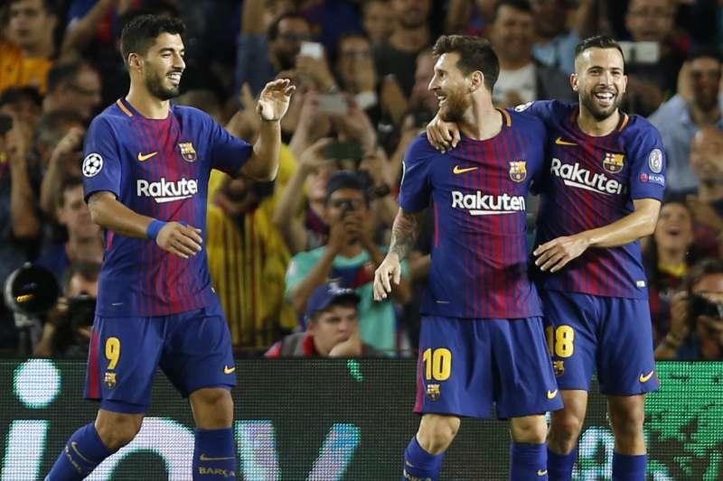 加泰隆尼亞的巴塞隆納足球俱樂部(FC Barcelona)。(美聯社)