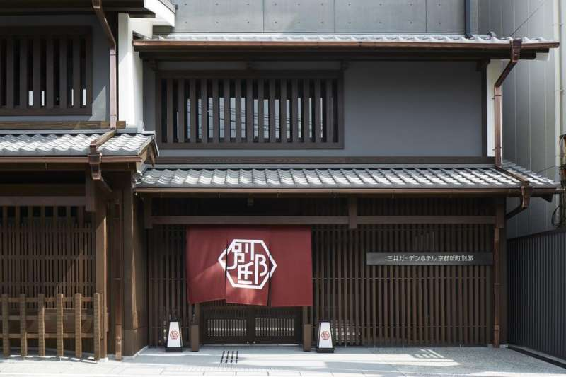 到京都這座古都遊玩,連住都要充滿濃濃的傳統日式風情。(圖/ booking.com,funtime提供)