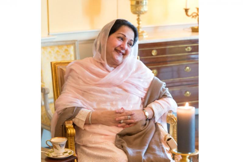 巴基斯坦前總理夏立夫的妻子庫素姆。(維基百科公有領域)