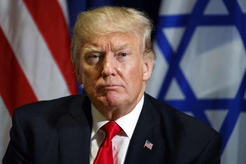 美國總統川普在聯合國大會的演說,將呼籲各國共同對抗北韓和伊朗。(美聯社)