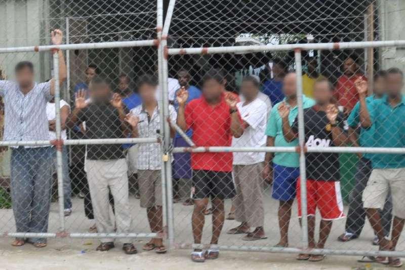 澳洲在巴布亞紐幾內亞「馬努斯島」的境外難民安置中心(AP)