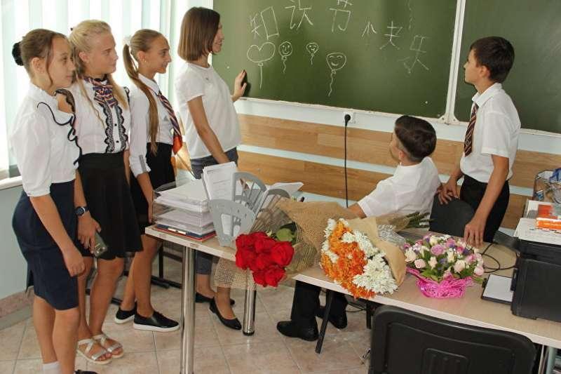 俄羅斯新學年將有哪些新的變化?(© Sputnik/ Tatyana Markevich)