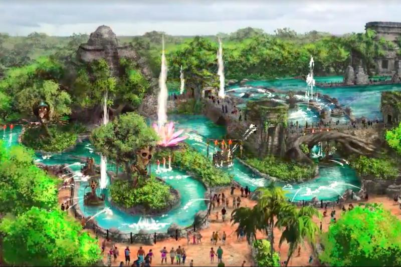 墨國預計將於2018年底推出大規模、以馬雅文化為主題的遊樂園。(圖/Impulso Creativo@youtube)