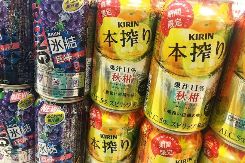 日本推出2017年秋季限定罐裝酒類。(圖/matcha提供)