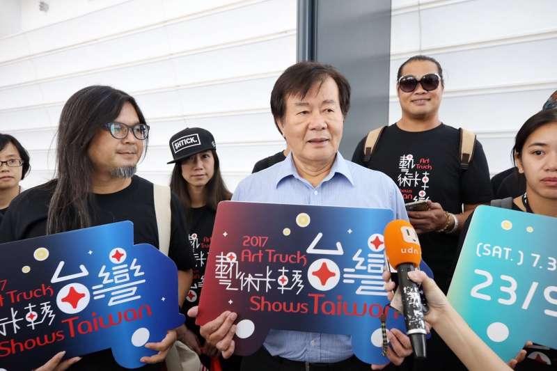 中華文化總會「藝術卡車」今(20)日將赴馬來西亞檳城,副會長江春男表示,因為檳城的多文化內涵和藝術卡車相契合,因此選擇演出的第一站。(中華文化總會提供)