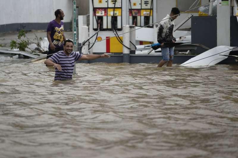 颶風瑪利亞侵襲波多黎各(AP)
