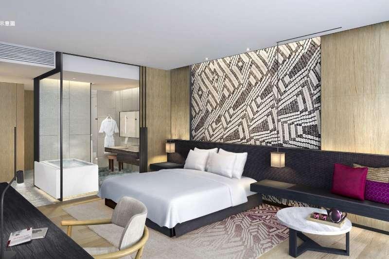 台南大員皇冠假日酒店慶開幕推優惠住房方案。(圖/台南大員皇冠假日酒店提供)