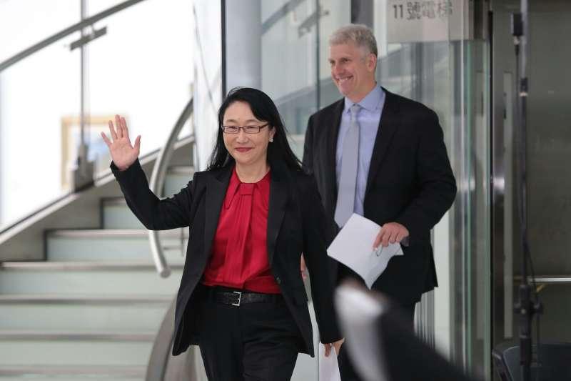 20170921-宏達電公告,HTC 2017台灣員工大會將於21日上午10時至11時30分舉行,並將出售參與打造Pixel手機的成員及授權專利給Google,交易總金額高達11億美元。圖為宏達電董事長暨執行長王雪紅。(顏麟宇攝)
