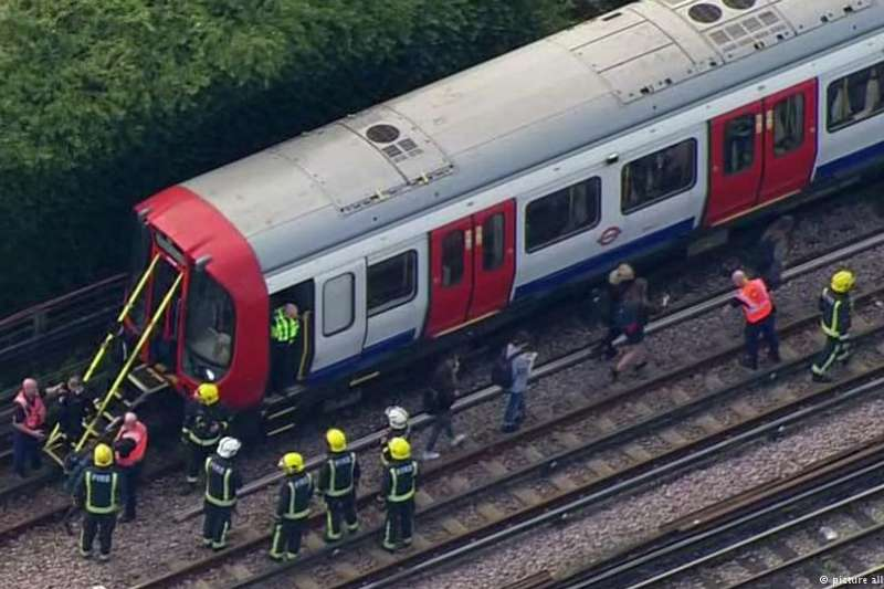 倫敦地鐵爆炸案,嫌犯網購炸藥材料。(德國之聲)