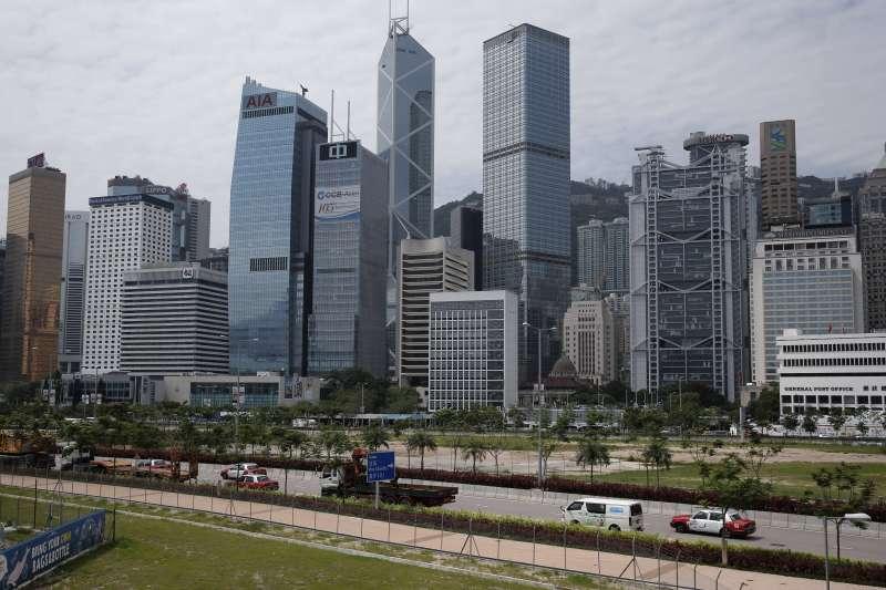 香港市中心(AP)