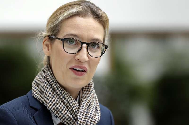 德國另類選擇黨(AFD)領導人威德爾(Alice Weidel)(AP)