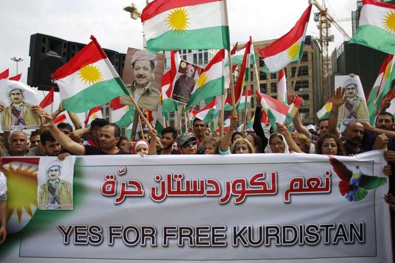 庫德族散居中東各地,共同的心願是能夠擁有自己的國家(AP)