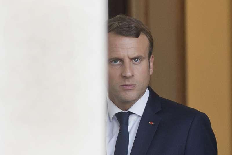 法國總統馬克宏領導的「共和國前進」在參議院改選未獲佳績。(美聯社)