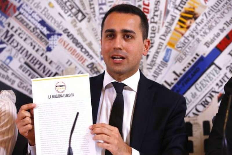 31歲的迪馬奧當選為義大利五星運動黨的黨魁,挑戰總理大位(AP)