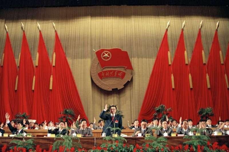 共青團中央改選,李克強選中央書記資料照。