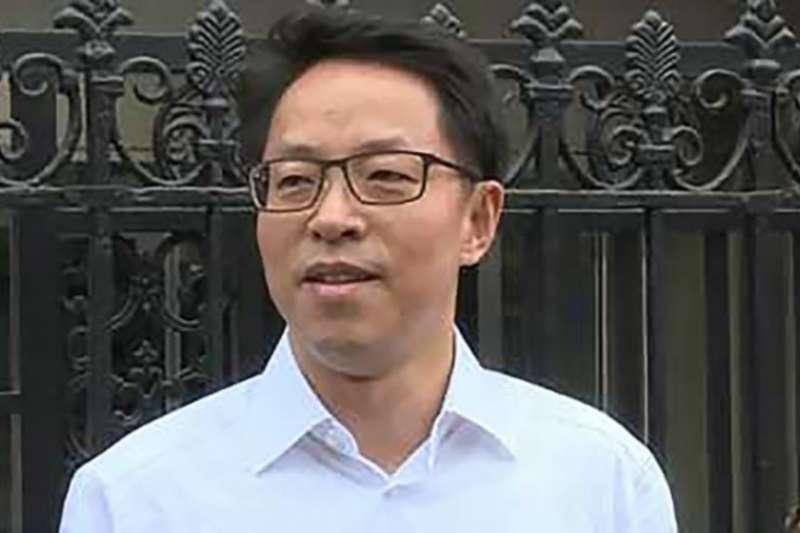 中國國務院新任港澳辦主任張曉明 (美國之音/蘋果日報圖片)