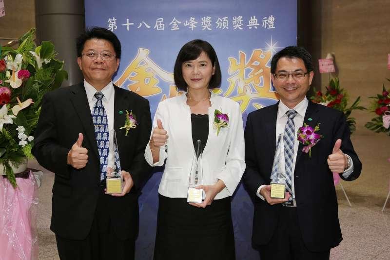 國泰人壽首次參選金峰獎,獲得雙項殊榮(圖/國泰人壽)