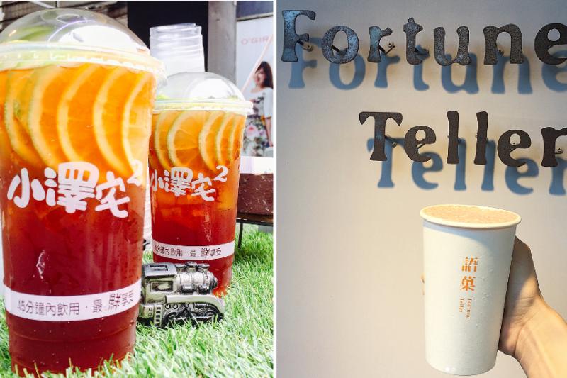 新竹特色飲品令人驚艷,實在好喝啊!(圖/左取自i_eatmei@instagram,右取自x0099290@instagram)
