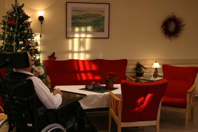 挪威一間老人養老院。(圖/By Thomas Bjørkan 想想論壇提供)