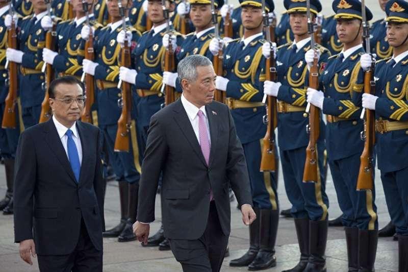 新加坡會放棄與台灣軍事合作嗎?(取自俄羅斯衛星通訊社© AP Photo/ Mark Schiefelbein)