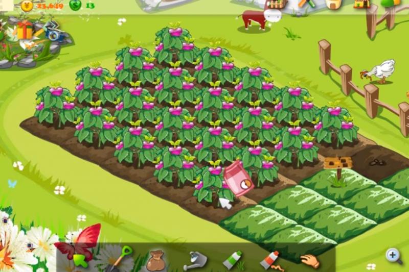 曾經紅極一時的開心農場,經過8年後決定結束營運。(圖翻攝自YouTube)