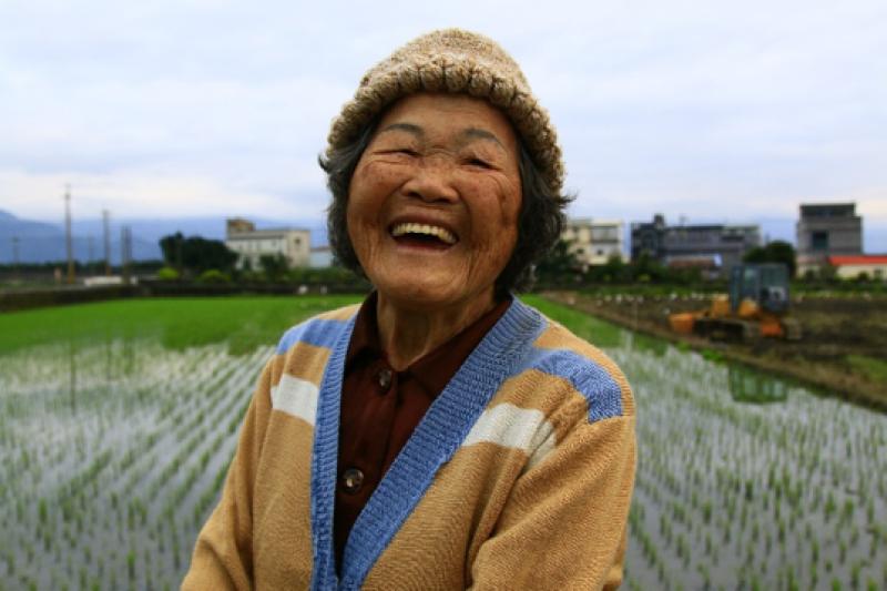 三星尚武村阿珠阿嬤,2017年90歲。(圖/李公元提供|想想論壇提供)