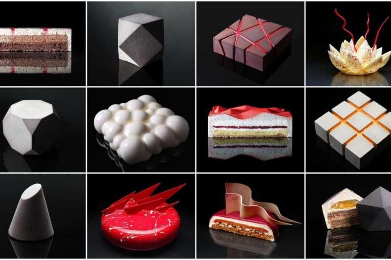 Dinara Kasko建築系的背景,讓她的作品和一般甜點相比顯得更為精美細緻、一絲不苟。(圖/瘋設計提供)