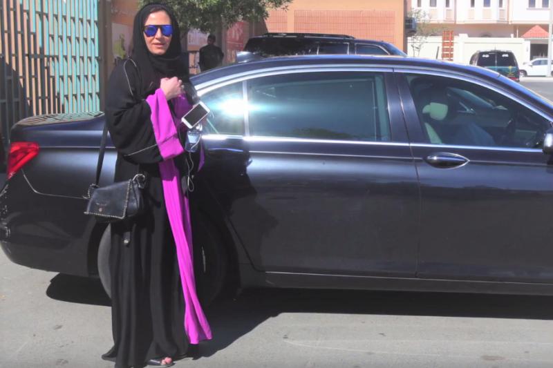 沙烏地阿拉伯是世界上唯一明定禁止女性開車的國家,如今這條規定即將解禁。(圖/Newsy@youtube)