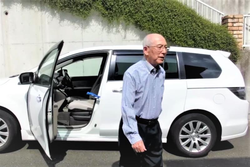 日本進入高齡社會後,銀髮族的交通事故年年增高,日本政府也十分苦惱。(示意圖,非當事人/研究所バランスボディ@youtube)