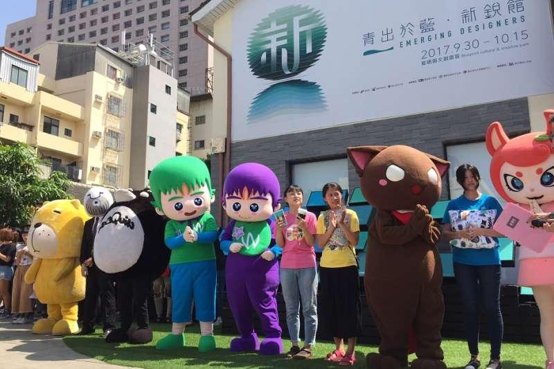 接連兩天於新銳館舉辦的設計行旅-IP市集。(圖/台南市文化局提供)