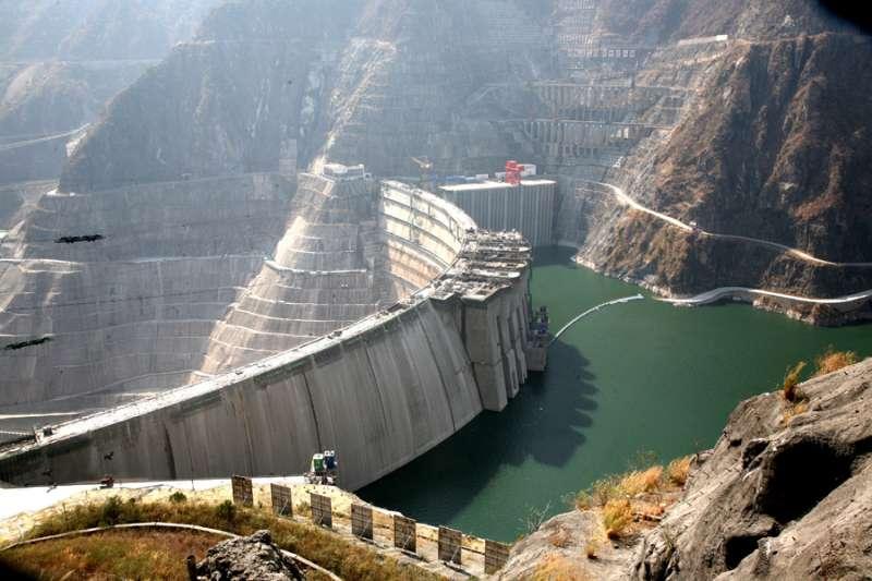 雲南瀾滄江小灣大壩(中國能源建設集團)