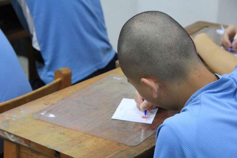 矯正學校下一步該如何走,才能提供符合收容少年所需要的矯正教育?圖為新竹誠正中學學生。(取自誠正中學臉書)