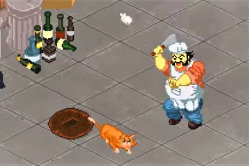加拿大公司開發了一款名為「骯髒的中餐館」(Dirty Chinese Restaurant)經營遊戲,把追殺貓狗、壓榨員工等情節置入遊戲中,讓中國大怒。(圖/Big-O-Tree Games@youtube)