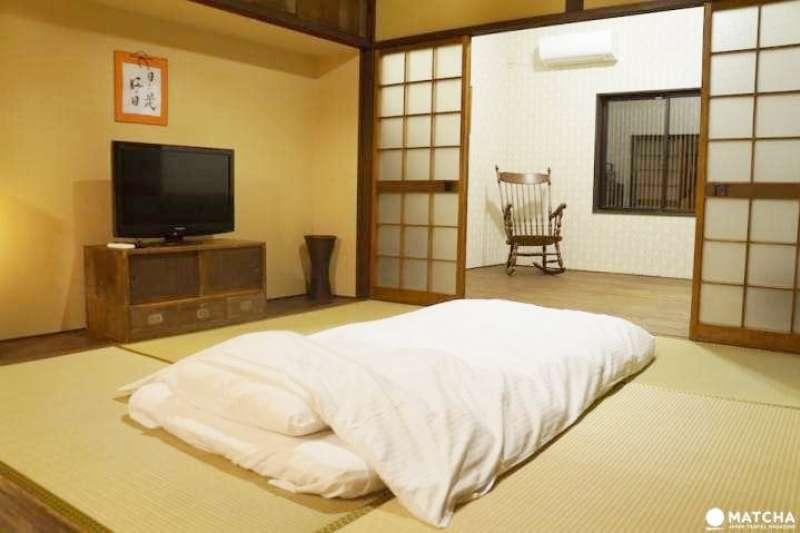 這間民宿濃縮了喜歡旅行的老闆的「獨有的堅持」的空間,能夠讓人體驗「住在京都的生活」。(圖/MATCHA)